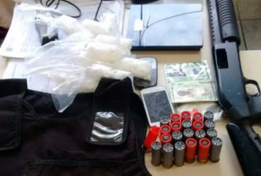 Três são presos por envolvimento com tráfico de drogas no Lobato