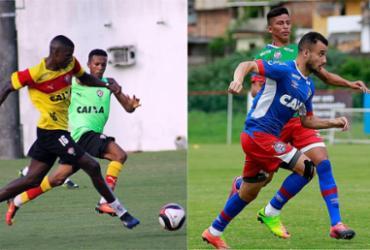 Dupla Ba-Vi usa reservas em jogos fora de casa pelo Baianão