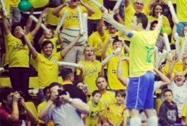 Falcão marca no último jogo oficial pela Seleção Brasileira