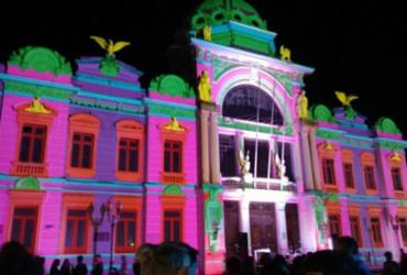 Festival brinca com luz e cores no Centro Histórico