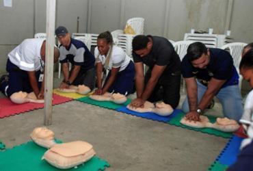 Samu treina funcionários da estação Nova Lapa para prestar atendimento