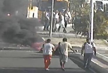 Protesto contra morte de comerciante afeta trânsito na Suburbana