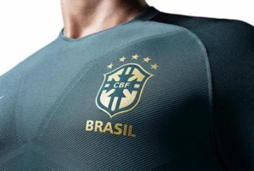 Nova camisa da Seleção Brasileira custa até R$ 449,90