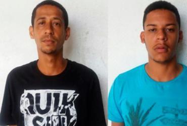 Dupla é presa por refino de drogas no bairro de Pirajá