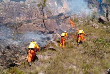 Incêndio atinge parque na Chapada Diamantina