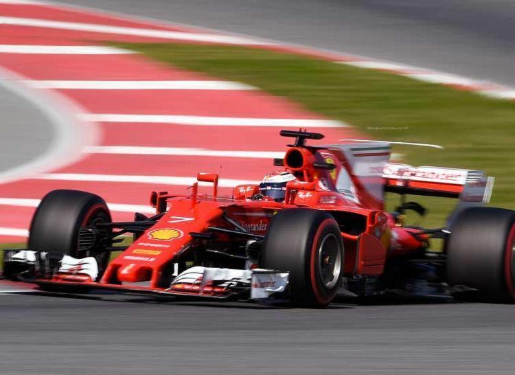 Kimi Raikkonen anotou o melhor tempo de toda a pré-temporada - Foto: Reprodução | AFP
