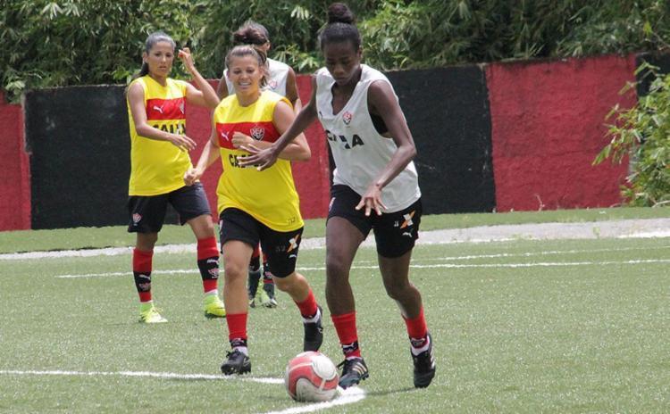 Rubro-negro recebeu cinco reforços para compor o elenco no torneio - Foto: Maurícia da Matta l EC Vitória