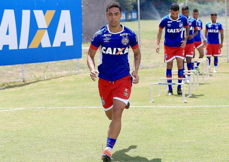 Éder diz que quer aproveitar a chance como titular na zaga - Foto: Felipe Oliveira l EC Bahia