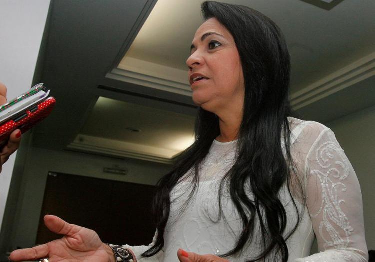 Moema Gramacho questiona limites territoriais entre Salvador e Lauro - Foto: Joá Souza l Ag. A TARDE l 17.04.2015