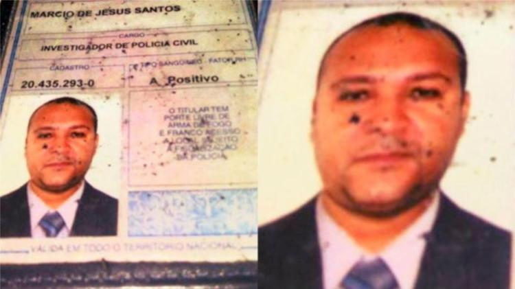 Márcio de Jesus Santos foi baleado quando foi buscar a filha durante uma festa - Foto: Divulgação