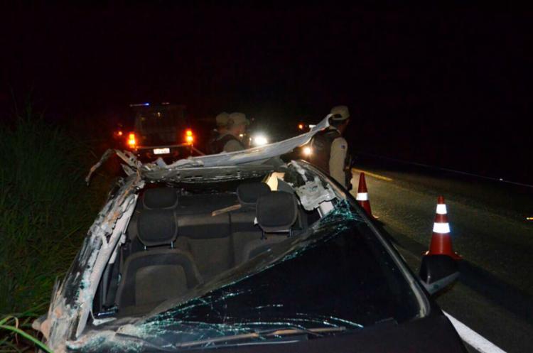 O acidente aconteceu na BR-252 trecho de Barreiras - Foto: Reprodução | Blog Sigi Vilares