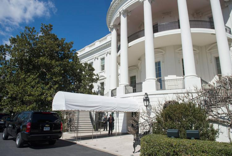 Trump estava na Casa Branca no momento da invasão - Foto: Saul Loeb | AFP