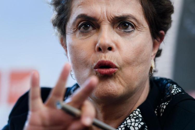 A ex-presidente é testemunha de defesa do ex-presidente do Banco do Brasil e da Petrobras, Aldemir Bendine - Foto: Fabrice Coffrini | AFP | 11.03.2017