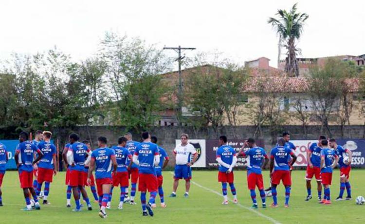 Guto relacionou 20 atletas para a partida contra o Altos, na quinta-feira - Foto: Divulgação | Esporte Clube Bahia