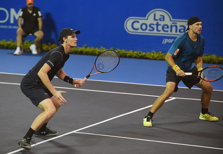 Soares e Murray chegam embalados pelo título em Acapulco - Foto: Alfredo Estrella l AFP