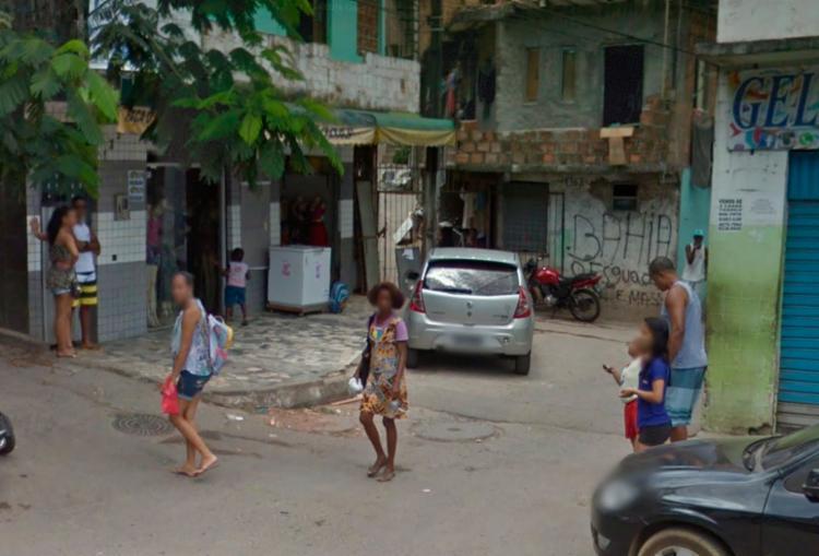 Crime aconteceu na rua Rapolde Filho de Baixo na Boa Vista de São Caetano - Foto: Reprodução   Google Maps