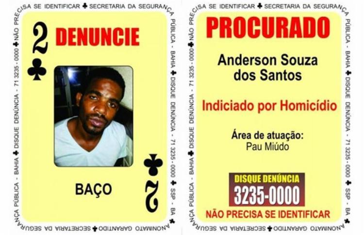 Anderson Souza dos Santos é apontado como líder do trafico na localidade do Brongo - Foto: Divulgação l Polícia Civil
