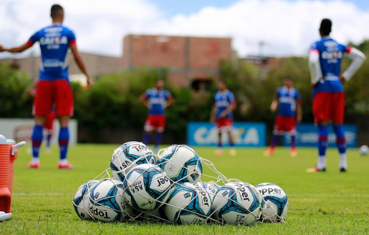 Tricolor só volta a jogar no domingo, na Fonte Nova - Foto: Felipe Oliveira l EC Bahia