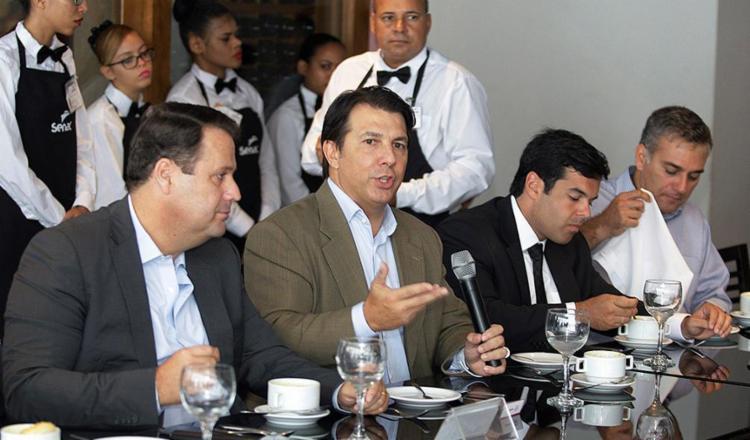 Maia falou sobre a reforma durante almoço promovido pelo Grupo de Líderes Empresariais (Lide) da Bahia - Foto: Luciano da Matta l Ag. A TARDE