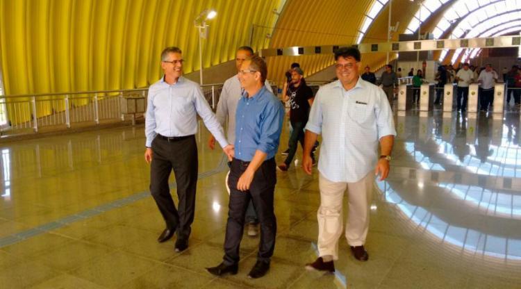 CCR se posicionou durante vistoria em obras do metrô - Foto: Luciano da Matta | Ag. A TARDE