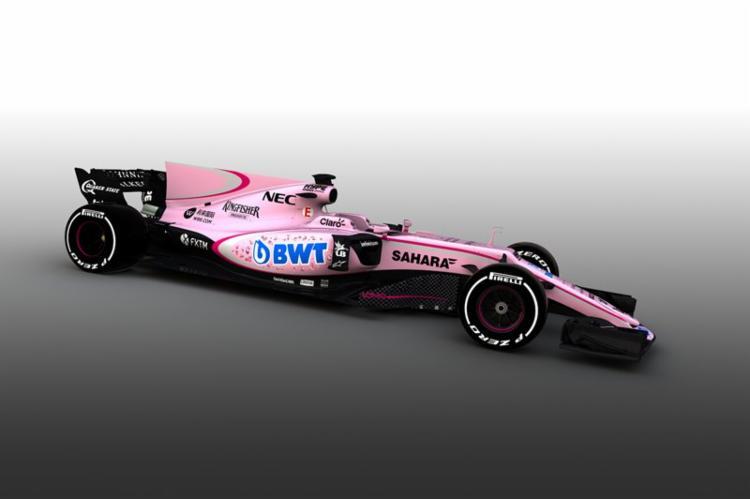 O carro vai para a pista dia 24, nos treinos para a corrida de Melbourne - Foto: Divulgação | Force India