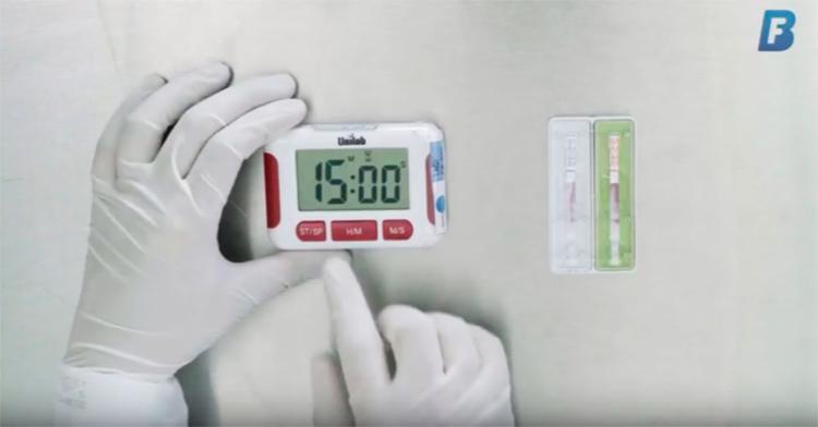 Vídeo ensina o passo-a-passo do teste - Foto: Reprodução   YouTube