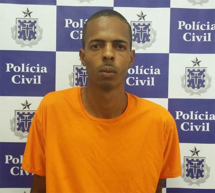 Luciano teve ajuda de dois comparsas para espancar e matar a vítima com tijoladas - Foto: Divulgação l Polícia Civil