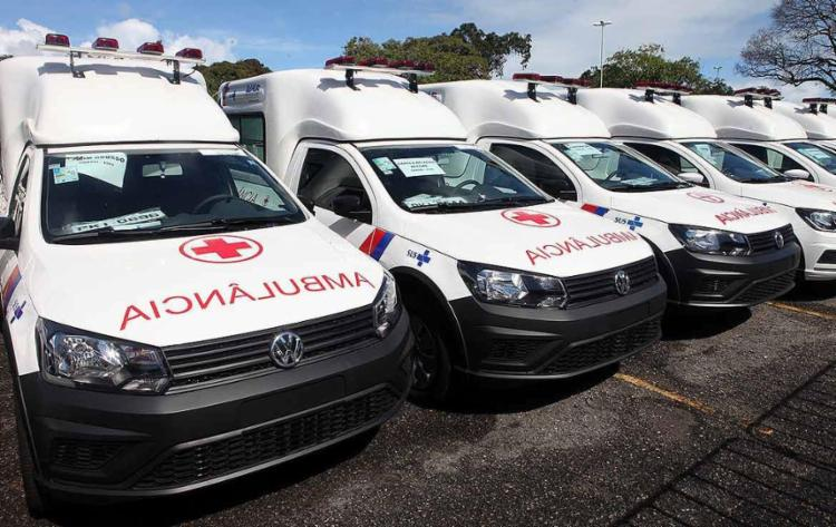 Veículos foram entregues por Rui Costa a prefeitos e secretários da saúde no interior da Bahia - Foto: Manu Dias | GOV-BA