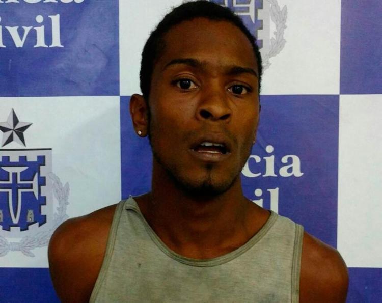 Iuri foi autuado em flagrante mais uma vez por roubo - Foto: Divulgação | Polícia Civil