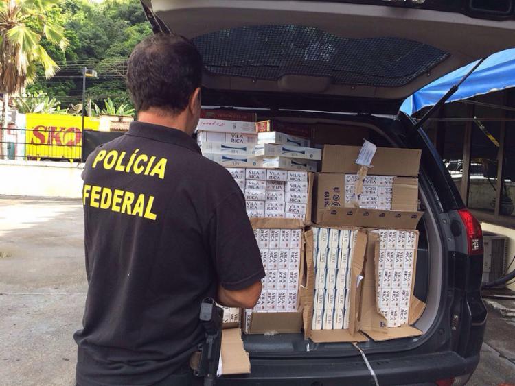 Apreensão do produto atingiu seis cidades baianas - Foto: PF l Divulgação