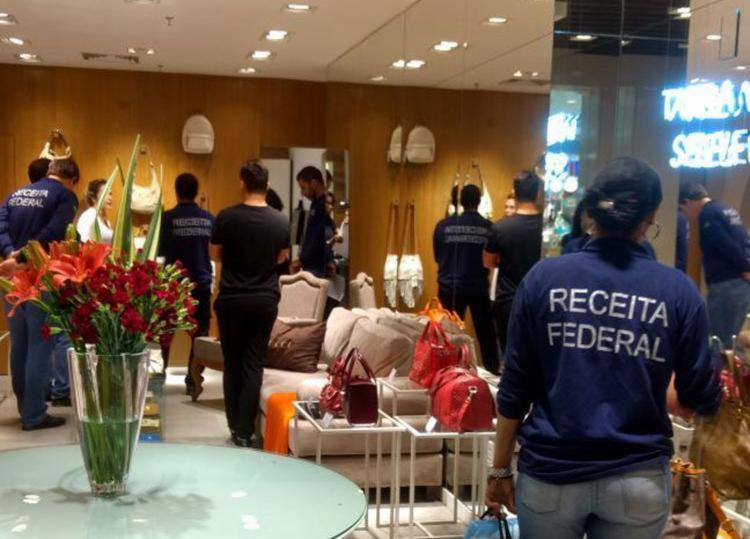 Receita Federal verifica procedência das bolsas - Foto: Divulgação | Receita Federal