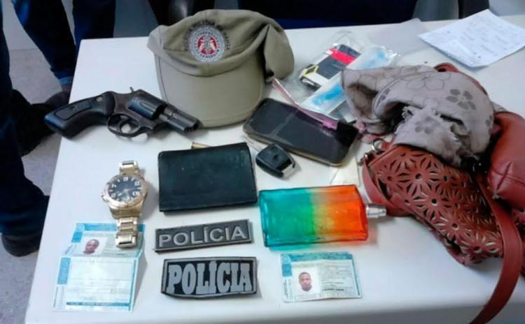 Polícia prendeu suspeitos após denúncia - Foto: Divulgação | PM