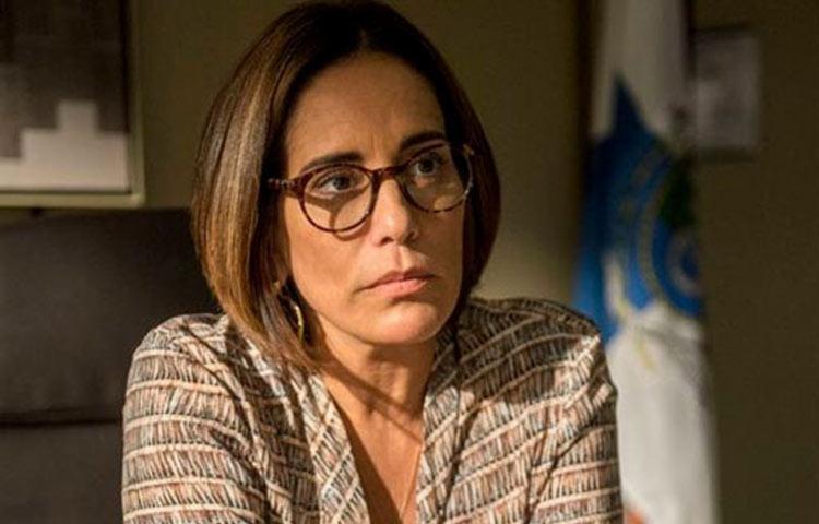 Glória Pires interpreta uma juíza - Foto: Reprodução | TV Globo