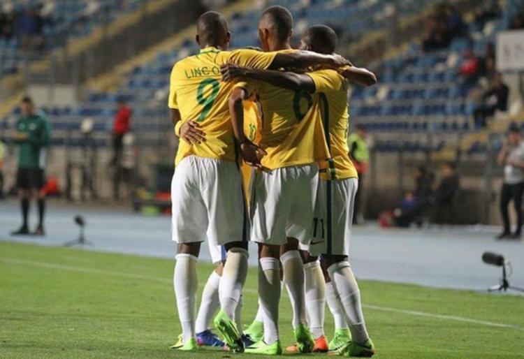 Time venceu a Colômbia por 3 a 0 - Foto: Reprodução   Twitter