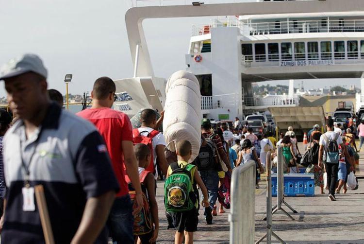 Seis embarcações estão à disposição dos usuários - Foto: Adilton Venegeroles   Ag. A Tarde