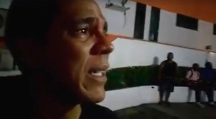 Lelo fez um vídeo onde exibe o desespero diante da situação - Foto: Reprodução   Facebook