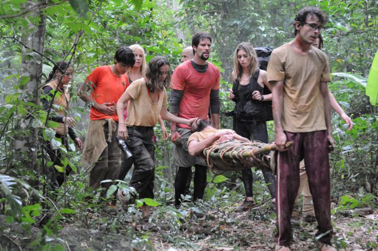 A série Sem Volta, da Record, sobre sobrevivência em ambiente hostil é exibida no canal A&E - Foto: Divulgação