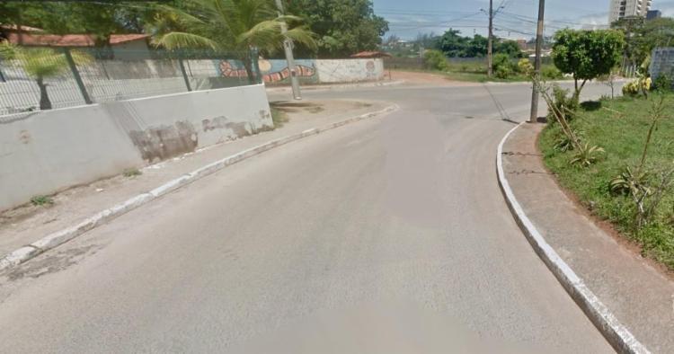 Crime aconteceu na Rua Tancredo Neves, transversal a Rua da Gratidão - Foto: Reprodução | Google Maps
