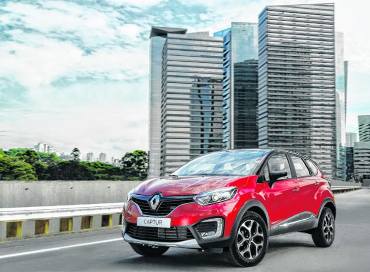 A Renault oferece duas versões com motor 1.6 e 2.0; visual é inusitado - Foto: Divulgação Renault