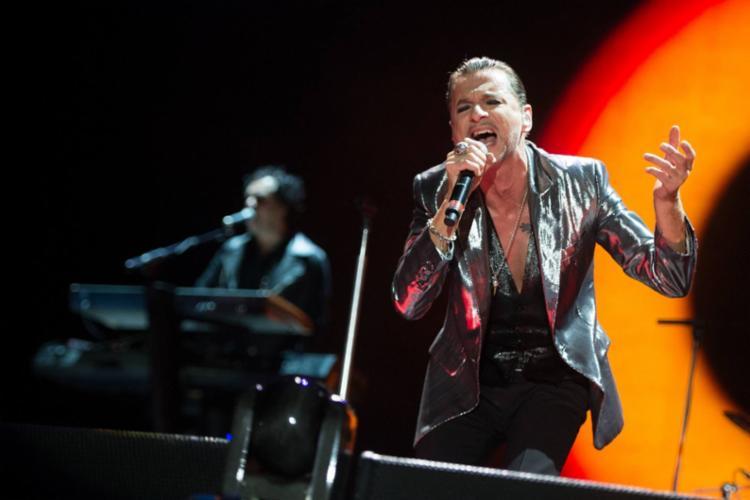 Dave Gahan, vocalista da banda - Foto: Divulgação   Depeche Mode