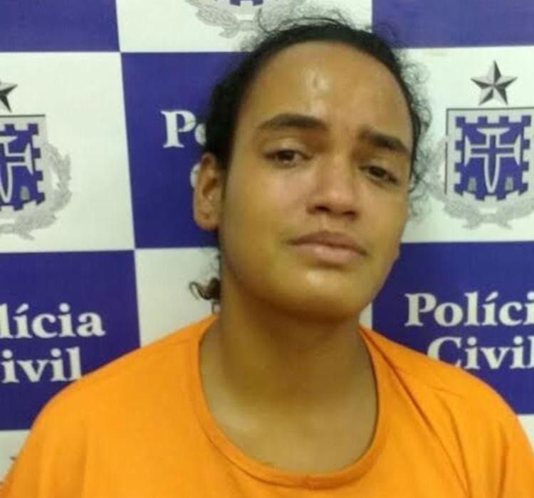Cristiane Conceição foi presa em flagrante por homicídio culposo, quando não há intenção de matar, - Foto: Divulgação | Polícia Civil