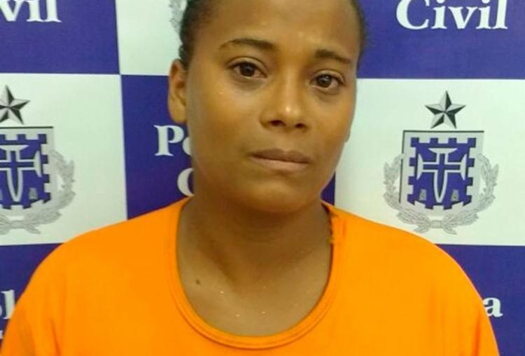 Jamine Nascimento disse que era constantemente agredida pelo companheiro - Foto: Divulgação | Polícia Civil