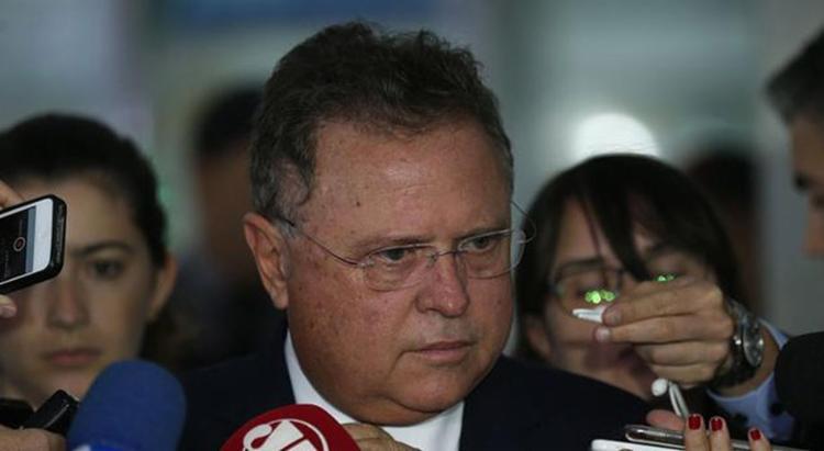 O ministro Blairo Maggi falou sobre a situação da carne brasileira - Foto: Fabio Rodrigues Pozzebom l Agência Brasil