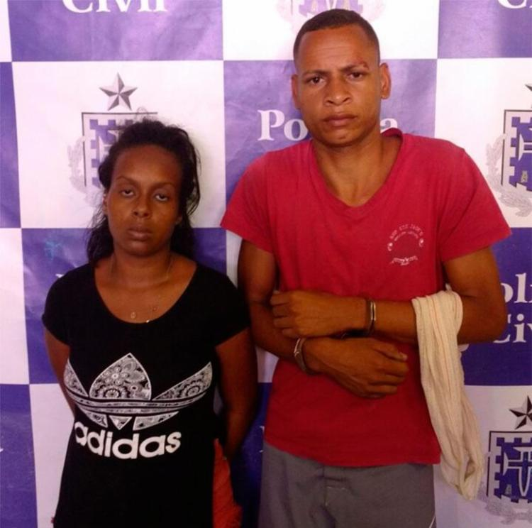 Dupla confessou envolvimento com roubos de coletivos - Foto: Divulgação | PC