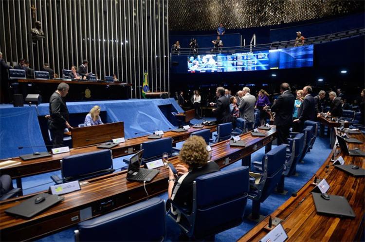 Os senadores autorizaram o município a contratar empréstimo estrangeiro com o BID - Foto: Jefferson Rudy l Agência Senado