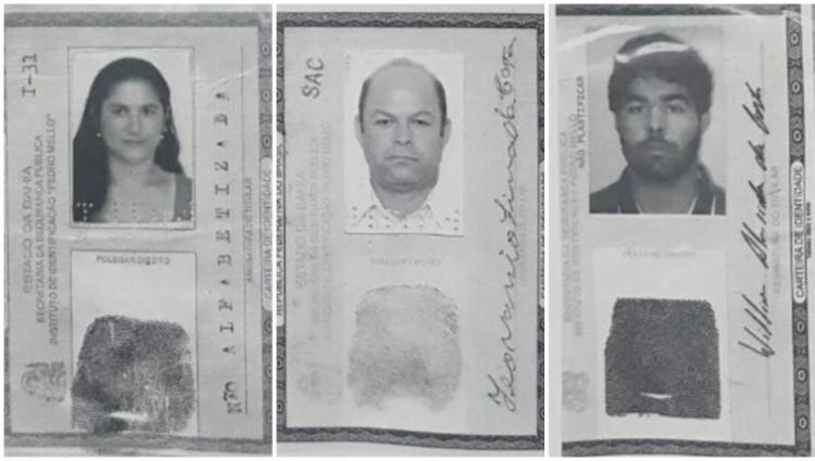 A polícia investiga se morte dos ciganos foi latrocínio ou execução - Foto: Divulgação | Polícia Civil
