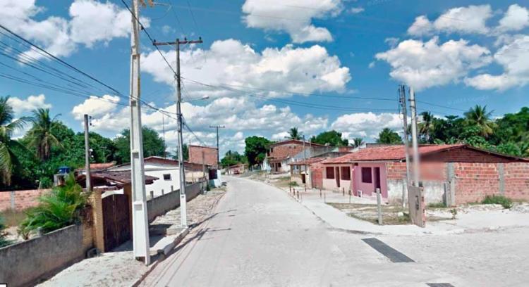 Crime aconteceu no bairro Barreiro, em Alagoinhas - Foto: Reprodução | Google Street View