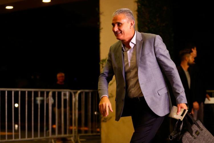 Tite se encontra com o uruguaio Óscar Tabárez nesta quinta-feira, 23 - Foto: Divulgação | Lucas Figueiredo | CBF