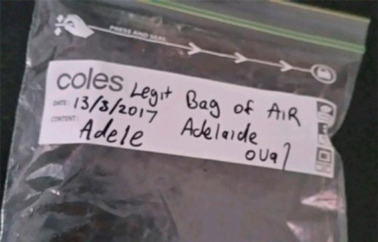 O saco está à venda no site do eBay - Foto: Reprodução