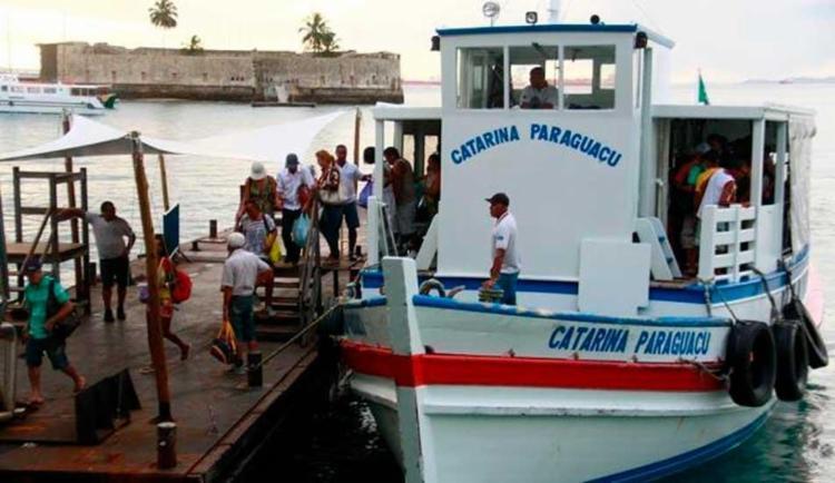 Caso as condições de navegações melhorem, a travessia voltará a operar nesta sexta - Foto: Reprodução